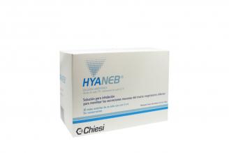 Hyaneb Solución Hipertonic Nebulización Caja Con 30 viales de 5 mL