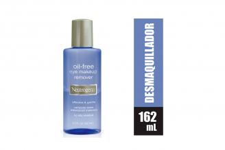Desmaquillante Neutrógena Oil Free Frasco Con 162 mL