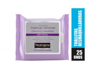 Toallas Desmaquillantes Neutrogena Makeup Remover Empaque Con 25 Toallas - Desmaquillador