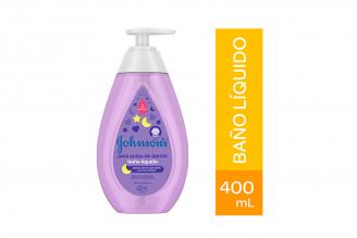 Baño Líquido Antes De Dormir Johnson's Frasco Con 400 mL