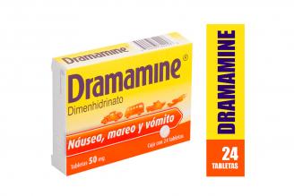 Dramamine 50 Mg Caja Con 24 Tabletas