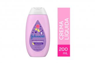 Crema Líquida Johnson's Antes De Dormir Frasco Con 200 mL