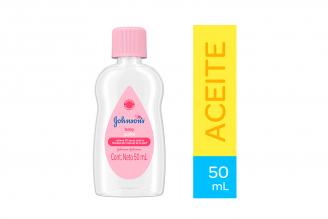 Aceite Puro Johnson's Baby Frasco Con 50 mL