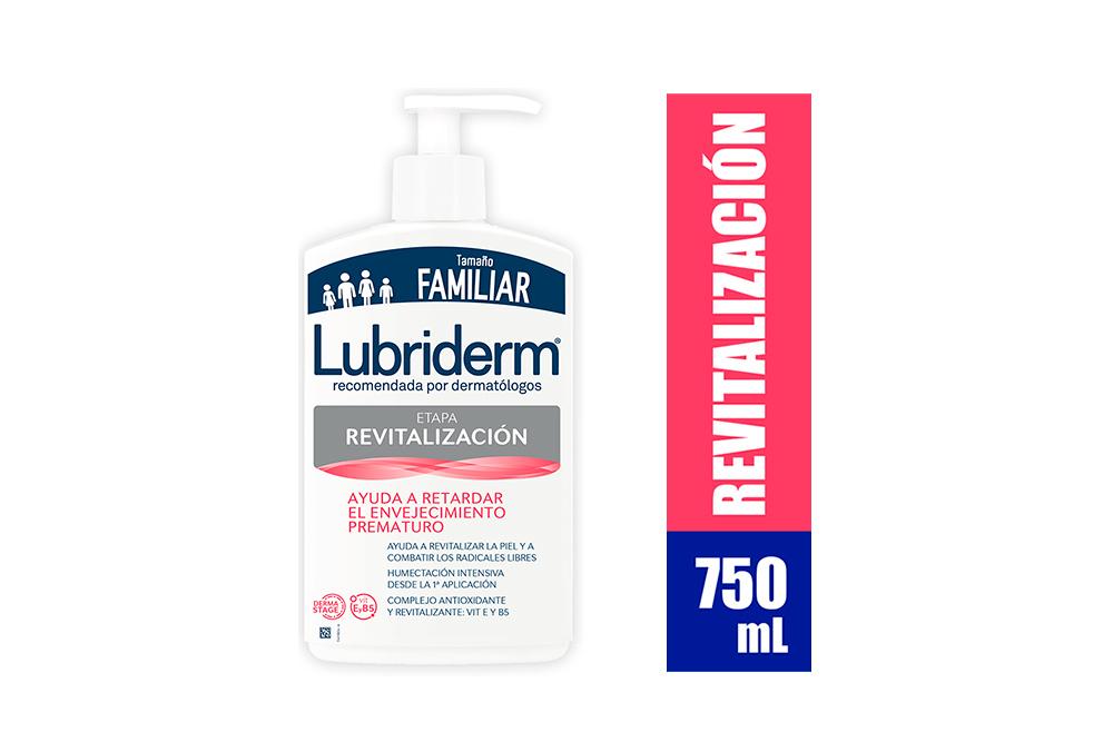 Loción Lubriderm Revitalización Frasco Con 750 mL