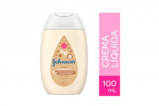 Crema Liquida Johnson's Baby Frasco Con 100 mL - Avena