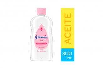 Aceite Johnson´s Baby Frasco Con 300 mL