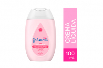 Crema Liquida Johnson's Baby Frasco Con 100 mL
