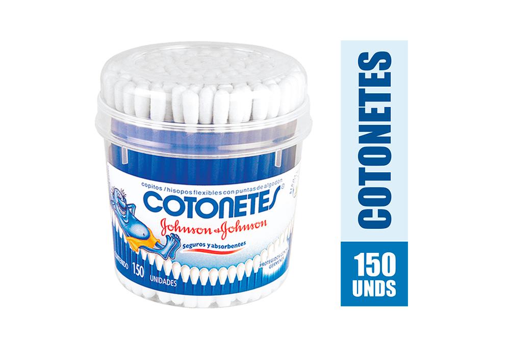 Copitos Johnson Frasco Con 150 Unidades - Algodón 100 % Natural