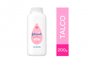 Talco Johnson's Baby Protección Pura Frasco Con 200 g