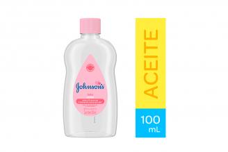 Aceite Puro Johnson's Baby Frasco Con 100 mL