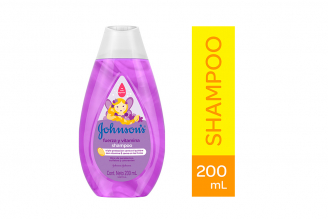 Shampoo Johnson's Baby Fuerza Y Vitaminas Frasco Con 200 mL