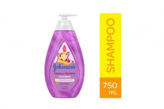Shampoo Johnson's Baby Fuerza Y Vitaminas Frasco Con 750 mL