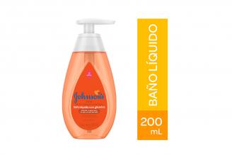 Baño Líquido Con Glicerina Johnson's Frasco Con 200 mL