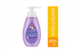 Baño Líquido Johnson's Antes De Dormir Frasco Con 200 mL