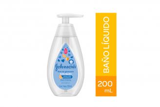 Baño Líquido Libre De Gérmenes Johnson's Frasco Con 200 mL
