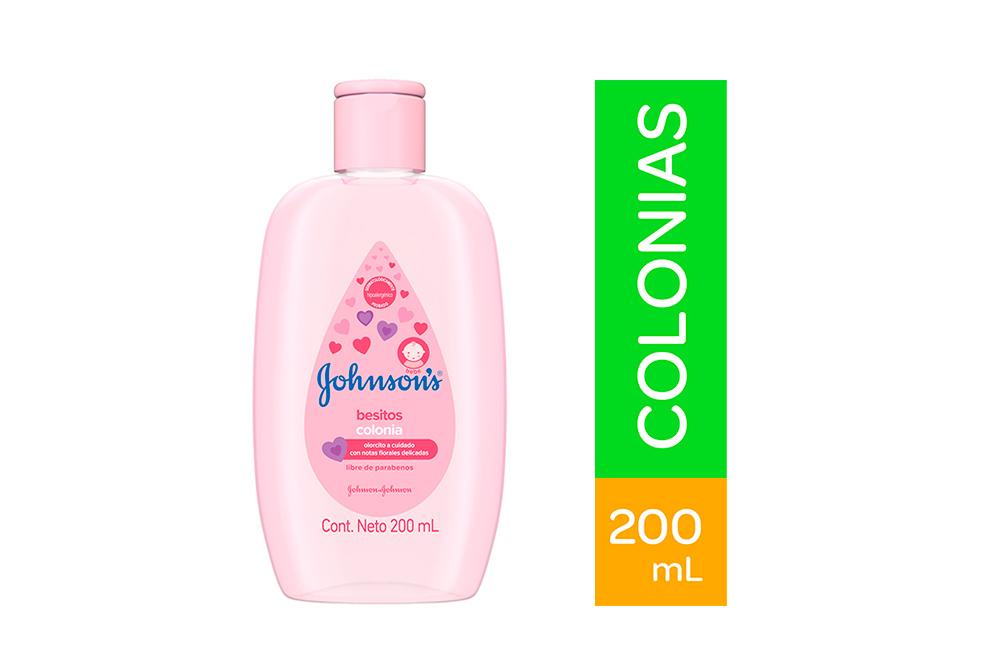 Colonia Johnson's Baby Besitos Frasco Con 200 mL