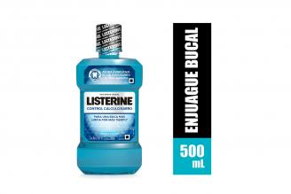 Enjuague Bucal Listerine Control Cálculo Frasco Con 500 mL