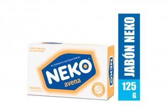 Jabón Antibacterial Neko Avena Caja Con Barra Con 125 g