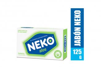 Jabón Neko Aloe Caja Con Barra Con 125 g