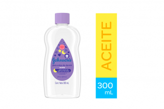 Aceite Baby Johnson's Para Antes De Dormir Frasco Con 300 mL