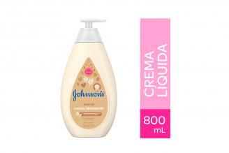 Crema Johnson Avena Frasco Con 800 mL