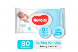 Toallitas Húmedas Huggies Recién Nacido Empaque Con 80 Unidades