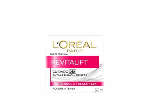 Crema Cuidado Día Anti-arrugas + Firmeza Revitalift  L´oréal Paris Caja Con Frasco Con 50 mL