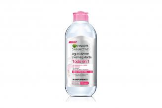 Agua Micelar Garnier Skin Active Todo En 1 Frasco Con 400 mL