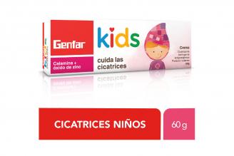 Calamina + Óxido de Zinc Crema Genfar Kids Caja Con Tubo Con 60 g