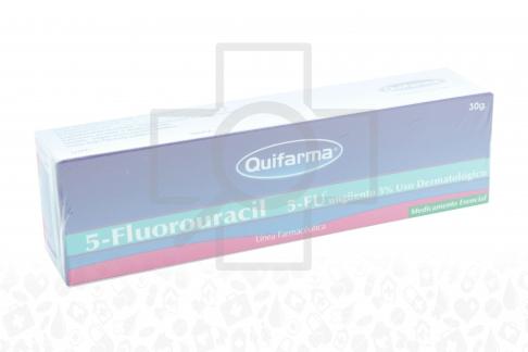 Fluorouracilo 5 % Ungüento Caja Con Tubo Con 30 g RX4