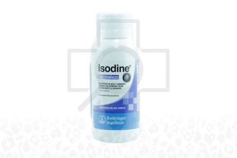 Isodine Bucofaringeo Frasco Con 60 mL