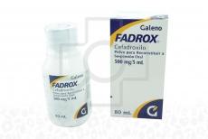Fadrox Suspensión 500 mg Frasco Con 80 mL Rx2