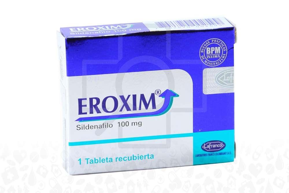 Eroxim 100 mg Caja X 1 Tableta Recubierta Rx