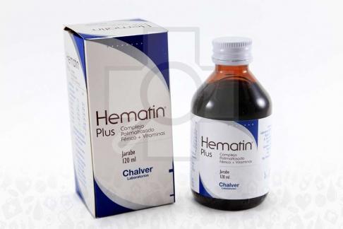 Hematin Plus Jarabe Caja Con Frasco x 120 mL RX