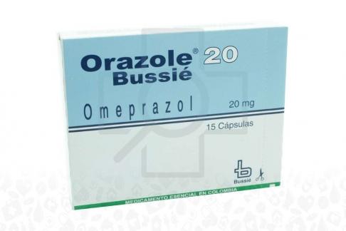 Orazole 20 mg Caja Con 15 Cápsulas Rx
