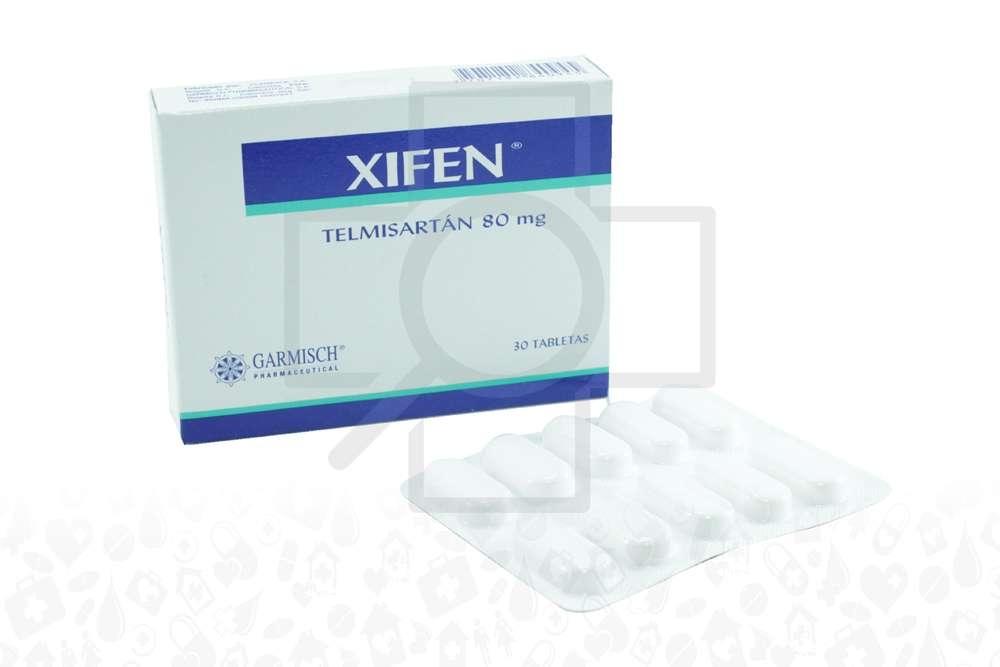 Xifen 80 Mg Caja X 30 Tabletas RX