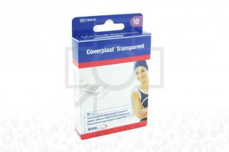 Curas Coverplast Transparent Caja Con 10 Unidades