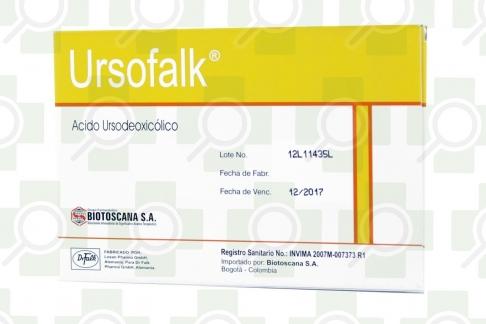 Ursofalk 250 mg Caja Con 25 Cápsulas Rx