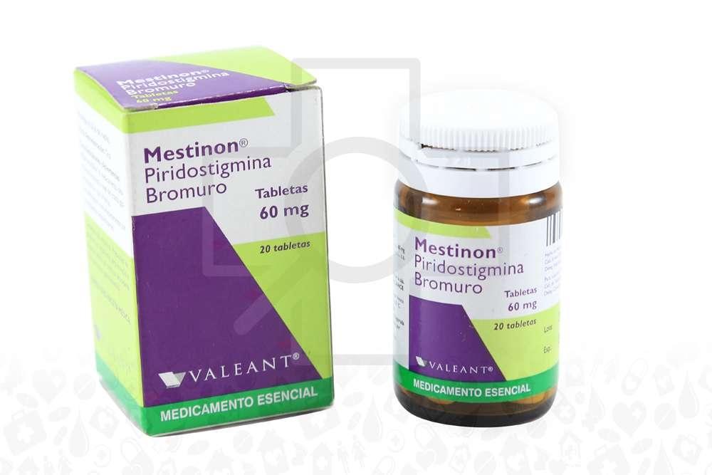 Mestinon 60 mg Caja Con Frasco Con 20 Tabletas Rx