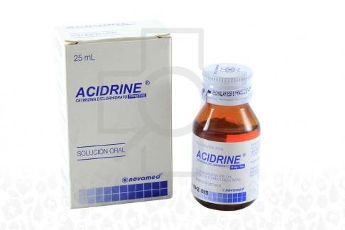 Acidrine 10 mg Caja Con Frasco Con Gotas X 25 mL Rx