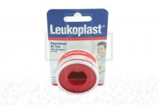 Esparadrapo Leukoplast Tela 1 X 5 Yds Caja Con 1 Unidad