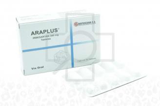 Araplus 300 mg Caja Con 30 Tabletas Rx