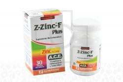 Z - Zinc F Plus 22.5 mg Caja Con Frasco X 30 Tabletas