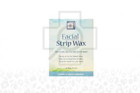 Facial Strip Wax Caja Con 24 Unidades