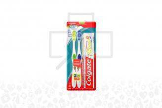 Cepillo Dental Colgate 360 Con 2 Unidades + Crema Dental Colgate Empaque Con 3 Unidades