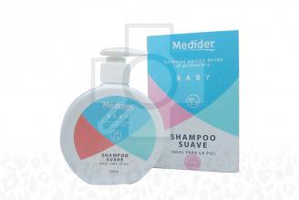 MEDIDER BABY – FRASCO X 300 G – SHAMPOO SUAVE PH 5.5