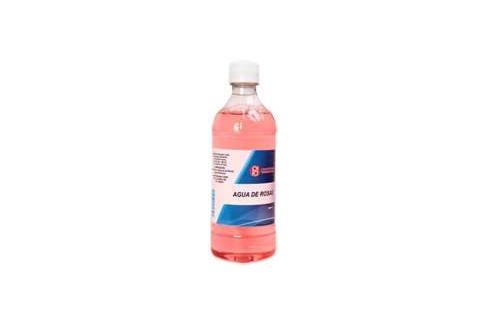 Agua De Rosa Frasco X 500 mL