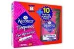 Tampones Nosotras x 8 + Pañitos Húmedos x 10