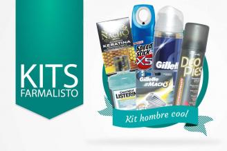Kit Fresh Men Caja Con + Listerine + Speed Stick + Shampoo + Deo Pies + Gillette