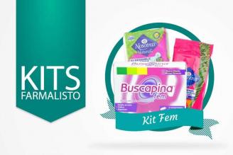 Kit Fem Caja Con 20 Toallas Nosotras Natural + 16 Pañitos Húmedos + 8 Buscapinas